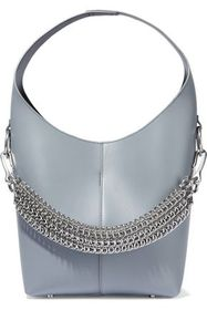 ALEXANDER WANG Genesis chain-trimmed leather tote