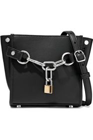 ALEXANDER WANG Attica chain-embellished leather sh