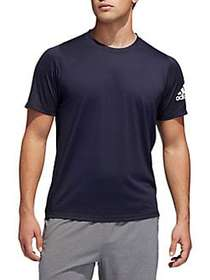 Adidas Freelift Sport Ultimate Heather T-Shirt BLU