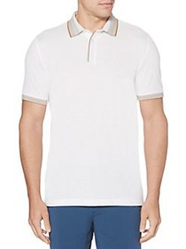 Perry Ellis Regular-Fit Ombre Stripe Short-Sleeve