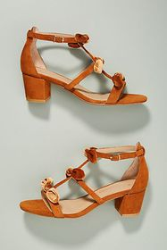 Anthropologie Anthropologie T-Strap Bow Heels