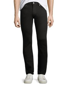 7 For All Mankind Slimmy Slim-Fit Jeans Black