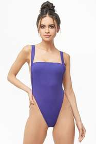 Forever21 High-Leg One-Piece Swimsuit