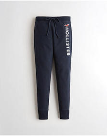 Hollister Ultra High-Rise Fleece Leggings, NAVY