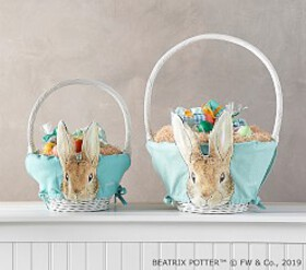 Pottery Barn Beatrix Potter™ Aqua Rabbit Easter Ba