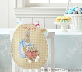 Pottery Barn Beatrix Potter™ Gingham Egg Chairback