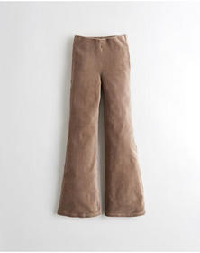 Hollister Ultra High-Rise Flare Corduroy Pants, BR