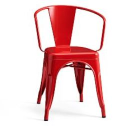 Pottery Barn Tavern Stacking Bistro Chair, Red on sale at Pottery Barn