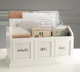 Pottery Barn Bedford Photo Caddy