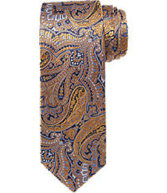 Jos Bank Signature Gold Paisley Tie CLEARANCE