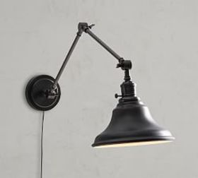 Pottery Barn PB Classic Articulating Arm Sconce -