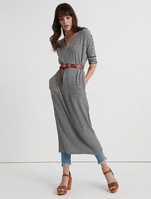 Lucky Brand Cloud Jersey Long Sleeve Dress