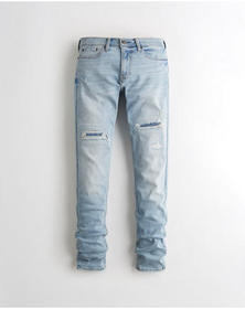 Hollister Advanced Stretch Stacked Skinny Jeans, R