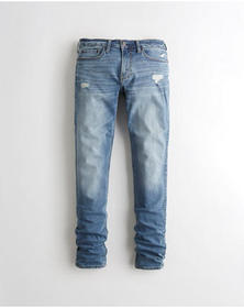 Hollister Advanced Stretch Stacked Skinny Jeans, M