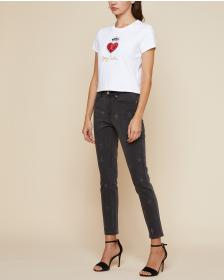 Juicy Couture Embellished Denim Skinny Jean