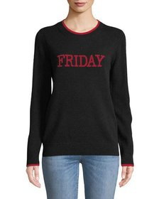 Neiman Marcus Cashmere Friday Pullover Sweater