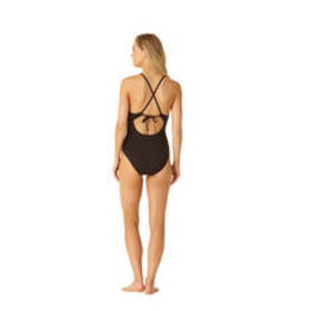 Cole of California Cross Back Plunge Mailot One Pi