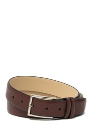 Tommy Bahama 32mm Micro Embossed Leather Belt