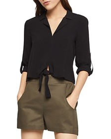 BCBGENERATION - Tie-Front Top