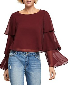 BCBGENERATION - Tiered-Sleeve Top