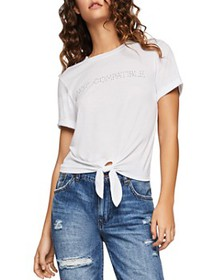 BCBGENERATION - Not Comparable Tie-Front Tee