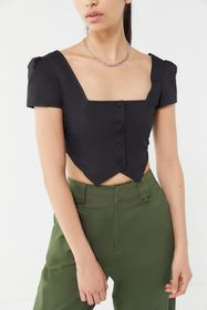 I.AM.GIA Ankaa Square-Neck Cropped Top