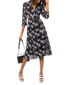 MICHAEL Michael Kors - Floral-Print Midi Dress