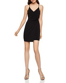 BCBGENERATION - Sleeveless Twist-Front Surplice Dr