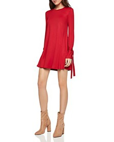 BCBGENERATION - Tie-Sleeve Swing Dress
