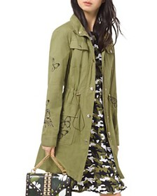 MICHAEL Michael Kors - Butterfly-Embroidered Cargo