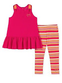 Juicy Couture Little Girl's 2-Piece Top & Cotton B