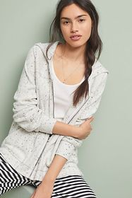Anthropologie Space-Dyed CloudFleece Hoodie