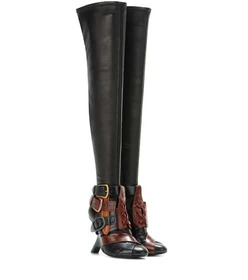Tom Ford Thigh-high Buckle boots
