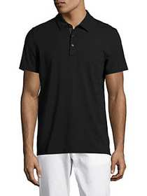 Michael Kors Bryant Polo Shirt BLACK