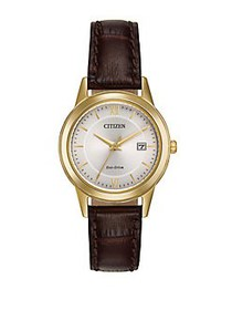 Citizen Straps Eco-Drive Goldtone Stainless Steel