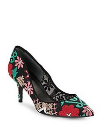 Charles by Charles David Addie Embroidered Pumps B