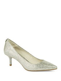 MICHAEL Michael Kors Flex Kitten Pumps SILVER