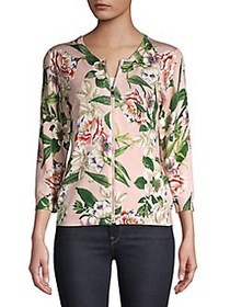 Context Botanical Garden Zip Front Jacket SOFT PIN