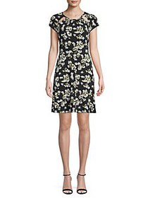MICHAEL Michael Kors Floral Cut-Out Shift Dress BL