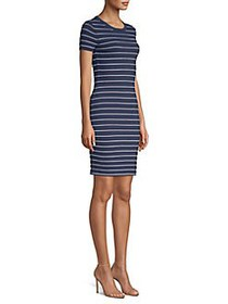 MICHAEL Michael Kors Tipped Scallop Dress TRUE NAV