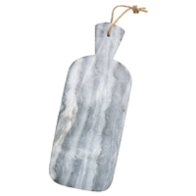 BarCraft Marble Cheese Paddle - Grey