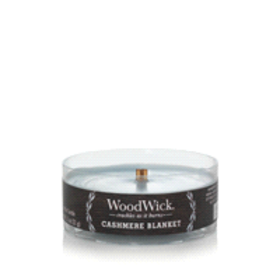 Woodwick Petite Candle Cashmere Blanket 1.1 Oz.