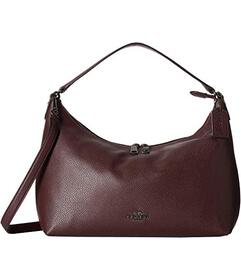 COACH Pebbled Leather East/West Celeste Convertibl
