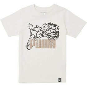Puma SCREENPRINT CTN JERSEY TEE- PS