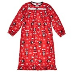 MICKEY MOUSE Girls Mickey Mouse Candy Cane Print N