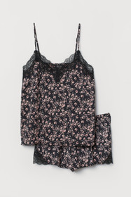 Pajama Camisole Top and Shorts