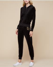 Juicy Couture Stacked Juicy Velour Zuma Pant