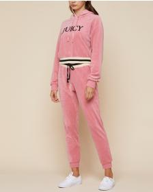 Juicy Couture Ultra Luxe Velour Hooded Pullover