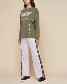 Juicy Couture JXJC Olive Multi-Juicy Long Sleeve T