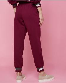 Juicy Couture Jacquard Juicy Fleece Jogger Pant